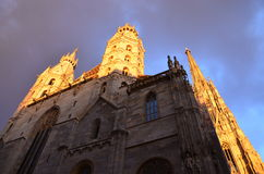 St. Stephen's Cathedral, Vienna Royalty Free Stock Photography