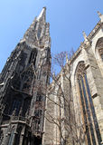 St. Stephen's Cathedral in Vienna Royalty Free Stock Photo