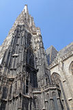 St. Stephen's Cathedral in Vienna Stock Photos