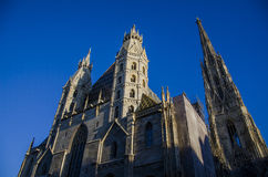St. Stephen's Cathedral in Vienna Royalty Free Stock Image