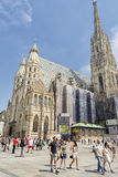 St. Stephen's Cathedral, Vienna, Austria Royalty Free Stock Image