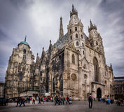 St. Stephen's Cathedral in Vienna Royalty Free Stock Photos