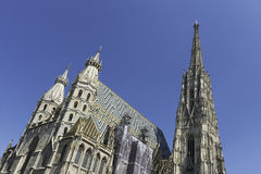 St. Stephen's Cathedral in Vienna, Austria Royalty Free Stock Photos