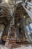 St. Stephen's Cathedral in Vienna stock image