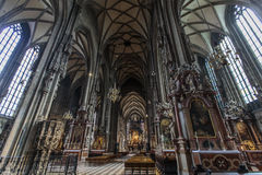 St. Stephen's Cathedral in Vienna stock photo