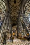 St. Stephen`s Cathedral in Vienna royalty free stock photos
