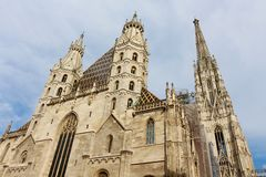 St. Stephen's Cathedral, Vienna Stock Photos