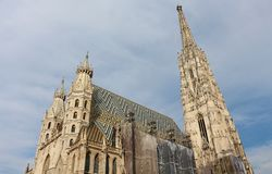 St. Stephen's Cathedral, Vienna Stock Images
