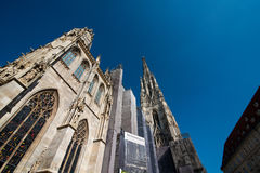 St. Stephen's Cathedral, Vienna. Saint Stephen's Cathedral in Vienna Stock Photography