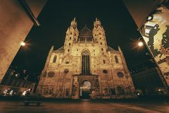 St. Stephen's Cathedral Vienna Royalty Free Stock Photos