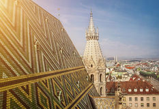 St.stephen's cathedral in Vienna Royalty Free Stock Photo