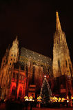 St. Stephen's Cathedral in Wien, Austria royalty free stock photos