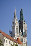 St. Stephen's Cathedral, Zagreb 2 Stock Image