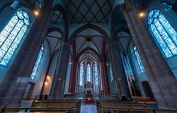 St Stephen`s church in Mainz Germany royalty free stock photo
