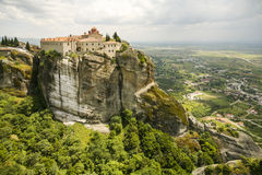 St. Stephen's Convent in Meteora, Greece Stock Photography