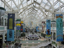 St. Stephen's Green Shopping Centre Royalty Free Stock Image