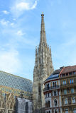 St Stephen ` s katedra w Wiedeń, Fotografia Royalty Free