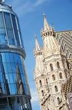 St. Stephen `s Katedra, Wiedeń Austria - Obraz Royalty Free