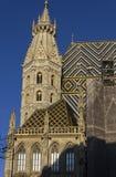 St Stephen ` s katedry wierza i dach Obrazy Stock