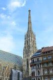 St Stephen ` s Kathedraal in Wenen, Royalty-vrije Stock Fotografie