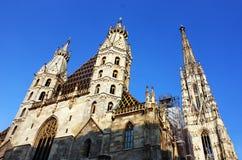 St- Stephen` s Kirche in Wien Stockfoto