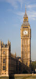 St Stephen's Tower (Big Ben). Part of the British Houses of Parliament royalty free stock image