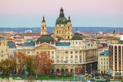 St Stephen (St Istvan) Basilica in Budapest Stock Photography