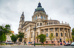 St. Stephen ( St. Istvan) Basilica in Budapest, Hungary Stock Photos