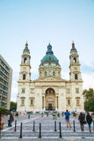 St Stephen (St Istvan) basilika i Budapest, Ungern Royaltyfri Bild