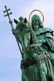 St. stephen standbeeld - close-up stock foto