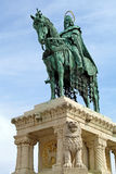 St. stephen standbeeld - onder mening royalty-vrije stock foto