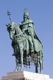 St. Stephen statue, Budapest. Statue of St. Stephen, Budapest, Hungary Stock Photos