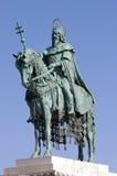 St. Stephen statue, Budapest Stock Photos