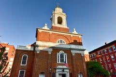 St Stephen & x27; s-kyrka - Boston, Massachusetts Royaltyfria Bilder