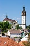 St- Stephenkathedrale, Litomerice, Böhmen, Tschechische Republik Lizenzfreies Stockfoto