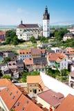 St- Stephenkathedrale, Litomerice, Böhmen, Tschechische Republik Lizenzfreie Stockfotos