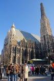 St.Stephens大教堂,维也纳 免版税库存图片