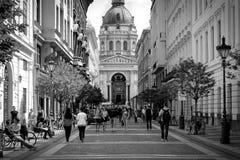 St Stephens Будапешт Стоковое фото RF