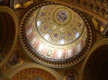 St, Stephens basilica. In Budapest Stock Photo