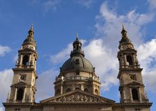 St, Stephens basilica. In Budapest Royalty Free Stock Photography