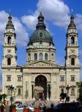 St Stephens Basilica Budapest imagens de stock