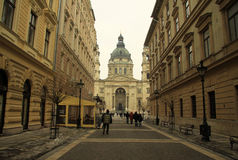 St. Stephens Basilica in Budapest, Hungary. February 2012 Stock Images