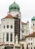 St Stephens Basilica en Passau, Alemania Imagenes de archivo