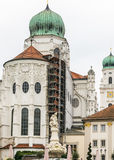 St. Stephens Basilica in Passau, Germany Stock Images