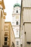 St. Stephens Basilica in Passau, Germany Stock Photos