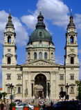 St Stephens bazylika Budapest Obrazy Stock