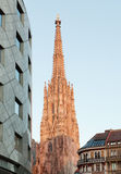 St Stephens Cathedral. Historic building and landmark of Vienna Royalty Free Stock Photo