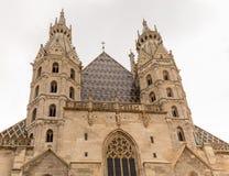 St Stephens Cathedral i Wien Royaltyfri Bild