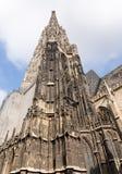 St Stephens Cathedral i Wien Arkivbild