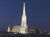 St. Stephens Cathedral Vienna Stock Image